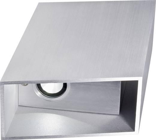 Twice LED-wandlamp 6 W Warmwit LSWL1622 Zilver-grijs