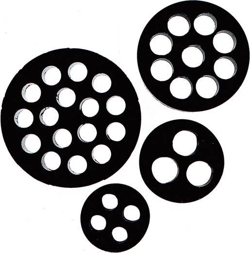 Meervoudig dicht-inzetstuk M20 Nitril-butadieen rubber Zwart LappKabel DIX-M20 1 stuks