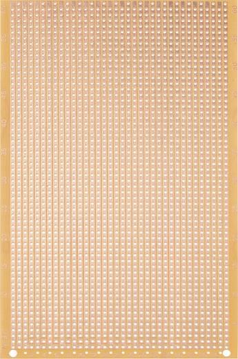 WR Rademacher WR-type 917 Experimenteer printplaat Hardpapier (l x b) 160 mm x 100 mm 35 µm Rastermaat 2.54 mm Inhoud 1 stuks