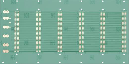 WR Rademacher WR-Typ 945 Testprintplaat Volgens IHK-richtlijnen Epoxide (l x b) 245 mm x 129 mm 35 µm Rastermaat 2.54 mm