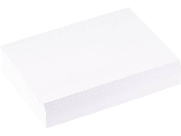 5 Star systeemkaarten, blanco A6 wit inhoud 100 st.