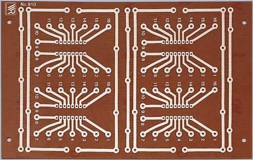 WR Rademacher WR-Typ 910 Printplaat Hardpapier (l x b) 160 mm x 100 mm 35 µm Rastermaat 2.54 mm Inhoud 1 stuks