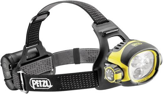 Petzl Ultra Vario LED Hoofdlamp Geel-zwart werkt op een accu