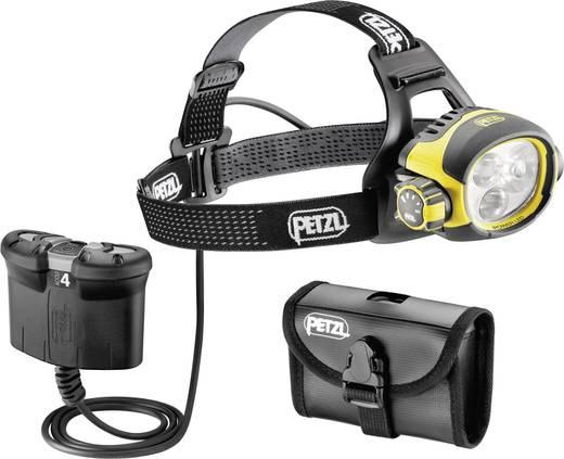 LED Hoofdlamp Petzl Ultra Vario Belt werkt op een accu 450 lm 62 h E54B
