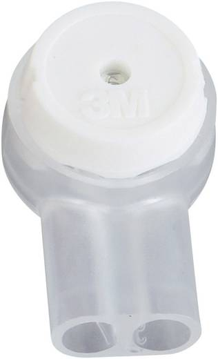 3M UY2-D Aderverbinder Flexibel: 0.13-0.65 mm² Massief: 0.13-0.65 mm² Aantal polen: 2 1 stuks Wit