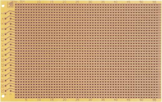 WR Rademacher WR-Typ 914 Testprintplaat Volgens IHK-richtlijnen Hardpapier (l x b) 160 mm x 100 mm 35 µm Rastermaat 2.54