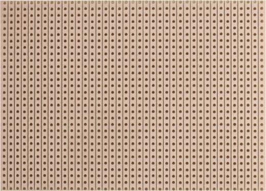 WR Rademacher WR-Typ 710-2 Printplaat Hardpapier (l x b) 100 mm x 75 mm 35 µm Rastermaat 2.54 mm Inhoud 1 stuks