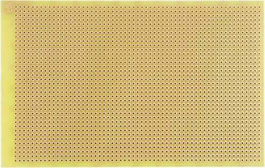 WR Rademacher WR-Typ 830-EP Experimenteer printplaat Epoxide (l x b) 160 mm x 100 mm 35 µm Rastermaat 2.54 mm Inhoud 1
