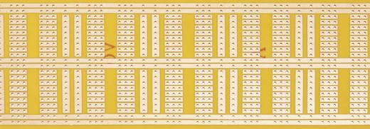 WR Rademacher WR-type 930-1 Experimenteer printplaat Hardpapier (l x b) 160 mm x 60 mm 35 µm Rastermaat 2.54 mm Inhoud