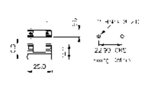 Bulgin Sicherungshalter Zekeringhouder Geschikt voor Buiszekering 5 x 20 mm 6.3 A 250 V/AC 1 stuks