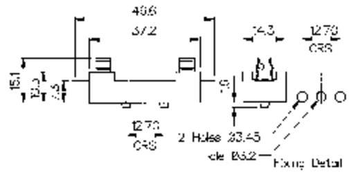 Bulgin Sicherungshalter Zekeringhouder Geschikt voor Buiszekering 6.3 x 32 mm 5 A 250 V/AC 1 stuks