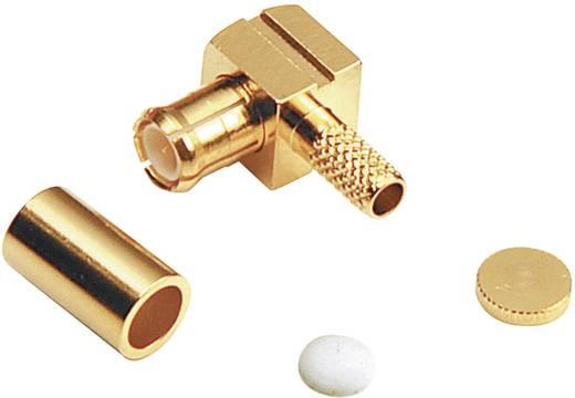 BKL Electronic 416006 MCX-connector Stekker, haaks 50 Ω 1 stuks