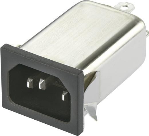 Yunpen YO06T1 Netfilter Met IEC-connector 250 V/AC 6 A 0.7 mH 1 stuks