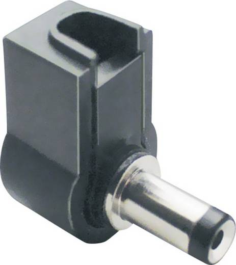 BKL Electronic 72614 Laagspannings-connector Stekker, haaks 3 mm 1.1 mm 1 stuks