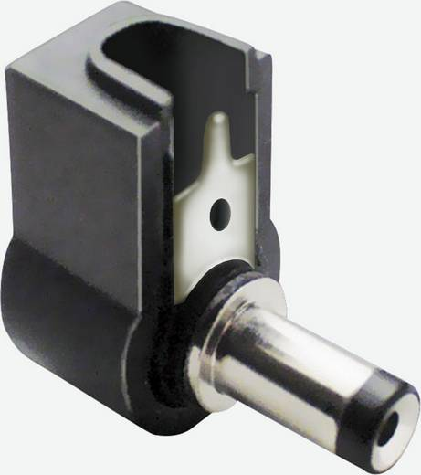 Laagspannings-connector Stekker, haaks 5.5 mm 2.5 mm BKL Electronic 72140 1 stuks