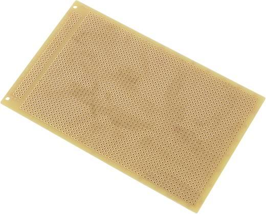 Conrad Components SU527441 Printplaat Hardpapier (l x b) 160 mm x 100 mm 35 µm Rastermaat 2.54 mm Inhoud 1 stuks
