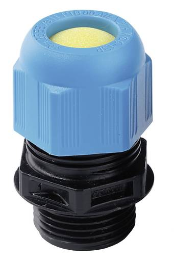 Wartel ATEX M16 Polyamide Zwart (RAL 9005), Lichtblauw (RAL 5012) Wiska ESKE/1-i 16 1 stuks