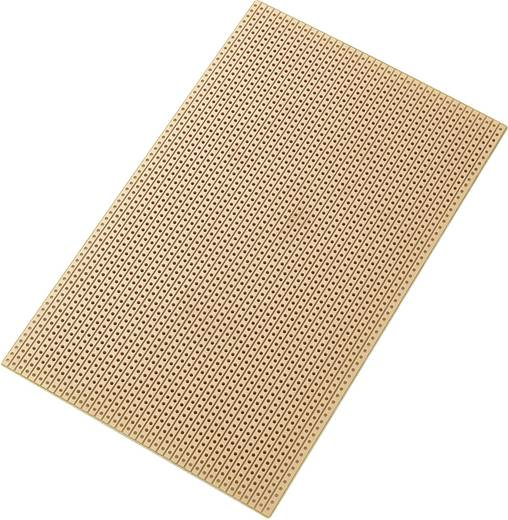 Conrad Components SU527453 Printplaat Hardpapier (l x b) 160 mm x 100 mm 35 µm Rastermaat 2.54 mm Inhoud 1 stuks