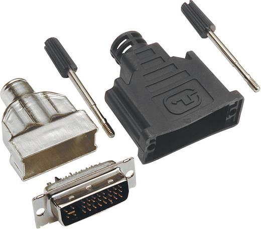 DVI-connector Stekker, recht BKL Electronic 908000 Aantal polen: 25
