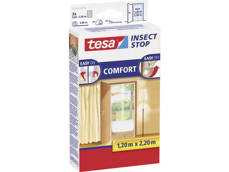 tesa Insect Stop Comfort 55389 20 Vliegenhor Wit 1 stuks