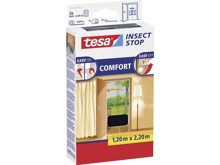 tesa Insect Stop Comfort 55389 21 Vliegenhor Antraciet 1 stuks