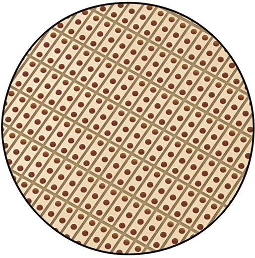 Conrad Components SU527815 Printplaat Hardpapier (l x b) 160 mm x 100 mm 35 µm Rastermaat 2.54 mm Inhoud 1 stuks