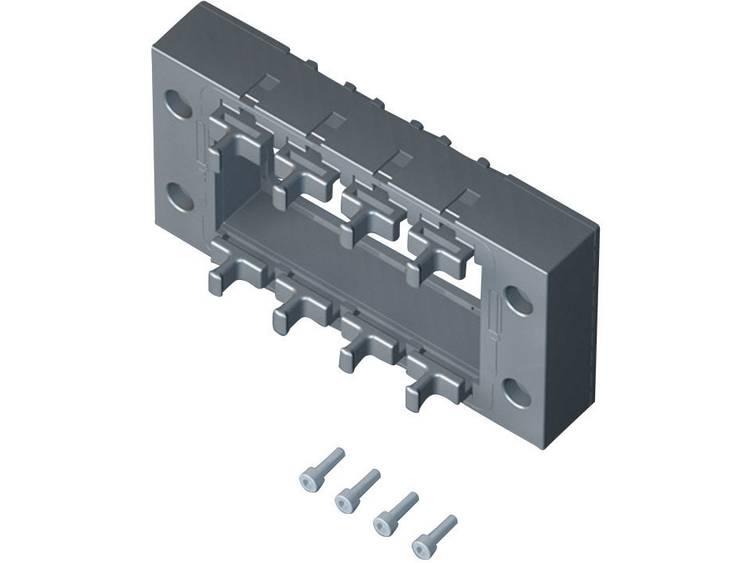 Rittal Stekkerdoorvoer-afdichtframe 2400910 (l x b x h) 120 x 67 x 19 mm IP64 Zwart Inhoud 1 stuks