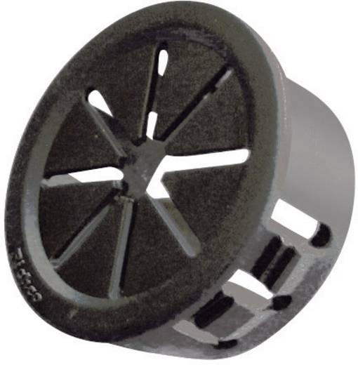 Kabeldoorvoering Klem-Ø (max.) 27 mm Polyamide Zwart Richco PGSD-11 1 stuks