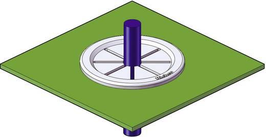 Kabeldoorvoering Klem-Ø (max.) 11.1 mm Polyamide Zwart Richco PGSD-2 1 stuks