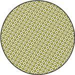 Europrintplaat met puntraster