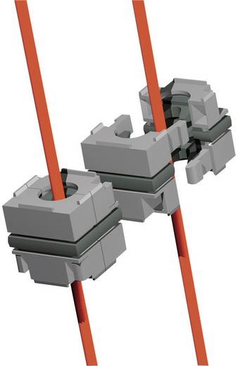 Rittal (l x b) 40 mm x 40 mm IP64 Zwart Inhoud 10 stuks