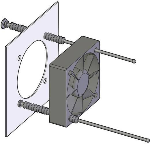 Ventilator bevestiging Silicone, Rubber Zwart Richco FMM-1 1 stuks