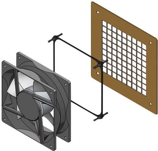 Ventilator bevestiging EPDM, Rubber Zwart Richco FMG-1 1 stuks