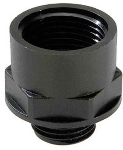 Wartel uitbreiding M20 M25 Polyamide Zwart (RAL 9005) Wiska ATEX EX-KEM 20/25 1 stuks