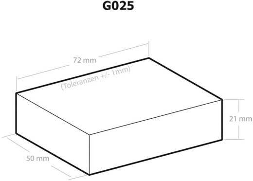 Kemo G025 Universele behuizing 72 x 50 x 21 Kunststof Zwart 1 stuks