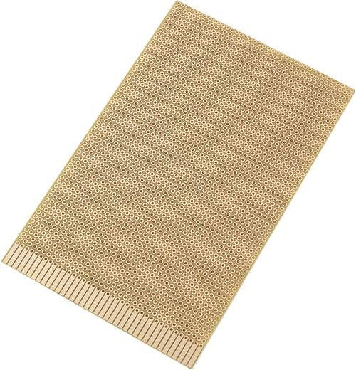 Conrad Components SU527661 Printplaat Hardpapier (l x b) 160 mm x 100 mm 35 µm Rastermaat 2.54 mm Inhoud 1 stuks