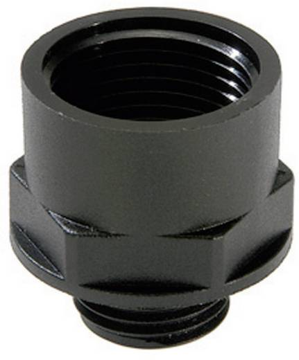 Wartel adapter PG16 M25 Polyamide Zwart (RAL 9005) Wiska EX-APM 16/25 1 stuks