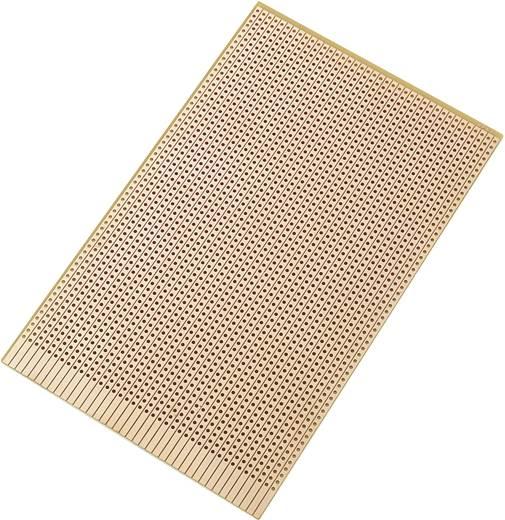Conrad Components SU527637 Printplaat Hardpapier (l x b) 160 mm x 100 mm 35 µm Rastermaat 2.54 mm Inhoud 1 stuks