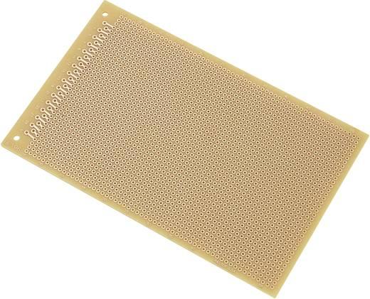 Conrad Components SU528196 Printplaat Hardpapier (l x b) 160 mm x 100 mm 35 µm Rastermaat 2.54 mm Inhoud 1 stuks
