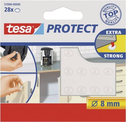 TESA 57898-00000-00 Apparaatvoet Zelfklevend, Rond Transparant (Ø) 8 mm 28 stuks