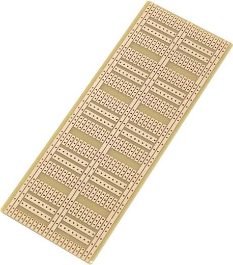 Conrad Components SU527181 IC-printplaat Hardpapier (l x b) 60 mm x 160 mm 35 µm Rastermaat 2.54 mm Inhoud 1 stuks