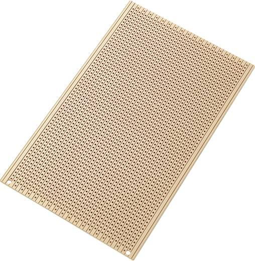 Conrad Components SU527556 Printplaat Hardpapier (l x b) 160 mm x 100 mm 35 µm Rastermaat 2.54 mm Inhoud 1 stuks