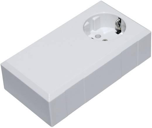 Conrad Components ESO 1250 E Stekkerbehuizing 125 x 67 x 50 Polycarbonaat, ABS Lichtgrijs 1 stuks