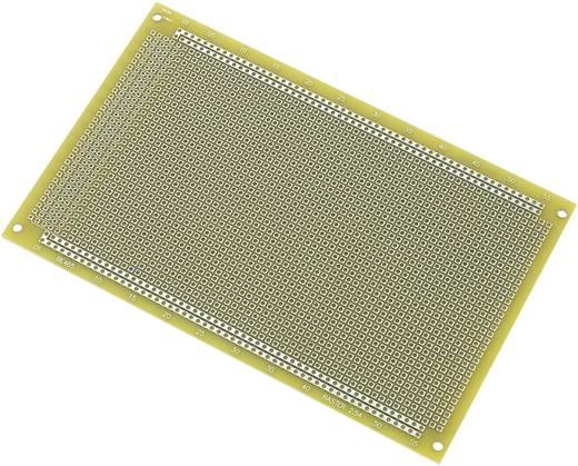 Conrad Components SU540423 IC-printplaat Epoxide (l x b) 100 mm x 160 mm 35 µm Rastermaat 2.54 mm Inhoud 1 stuks