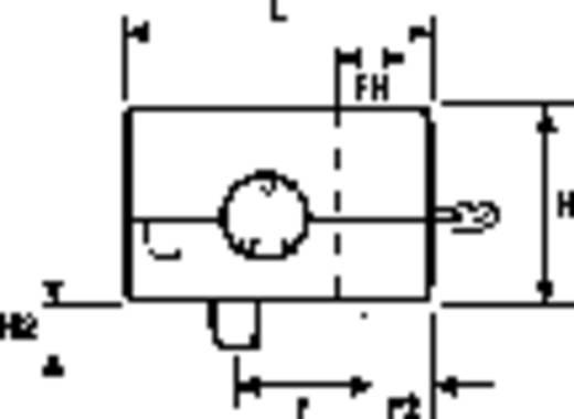 Wartel Klem-Ø (max.) 6.7 mm Polyamide 6.6 Zwart HellermannTyton KK2-N66-BK-D1 1 stuks