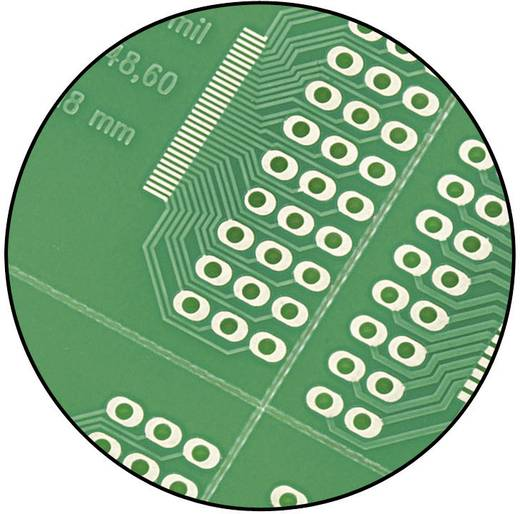 Conrad Components SU520911 SMD-adapter Epoxide (l x b) 72.5 mm x 72.5 mm 35 µm Rastermaat 0.40 mm, 0.50 mm, 0.50 mm, 0.