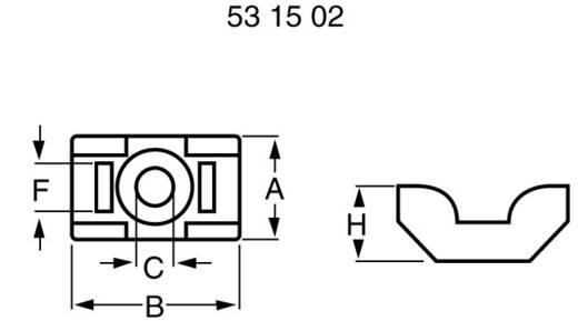 Bevestigingssokkel Schroefbaar Naturel PB Fastener TM 48 TM 48 1 stuks