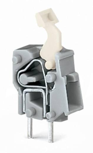 Veerkachtklemblok 2.50 mm² Aantal polen 1 PCB MOD.T.BL. DARK GREY W.LEVER WAGO Donkergrijs 500 stuks