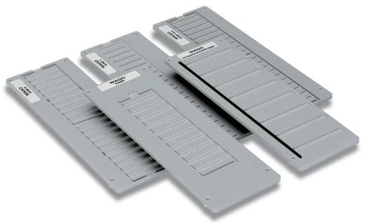 WAGO 258-380 258-380 Inlegraam voor markeringskaarten 1 stuks