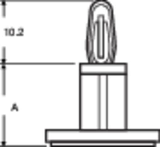 PB Fastener LCBSB-4A Afstandhouder Zelfklevend Kunststof Afstand 6.4 mm 1 stuks